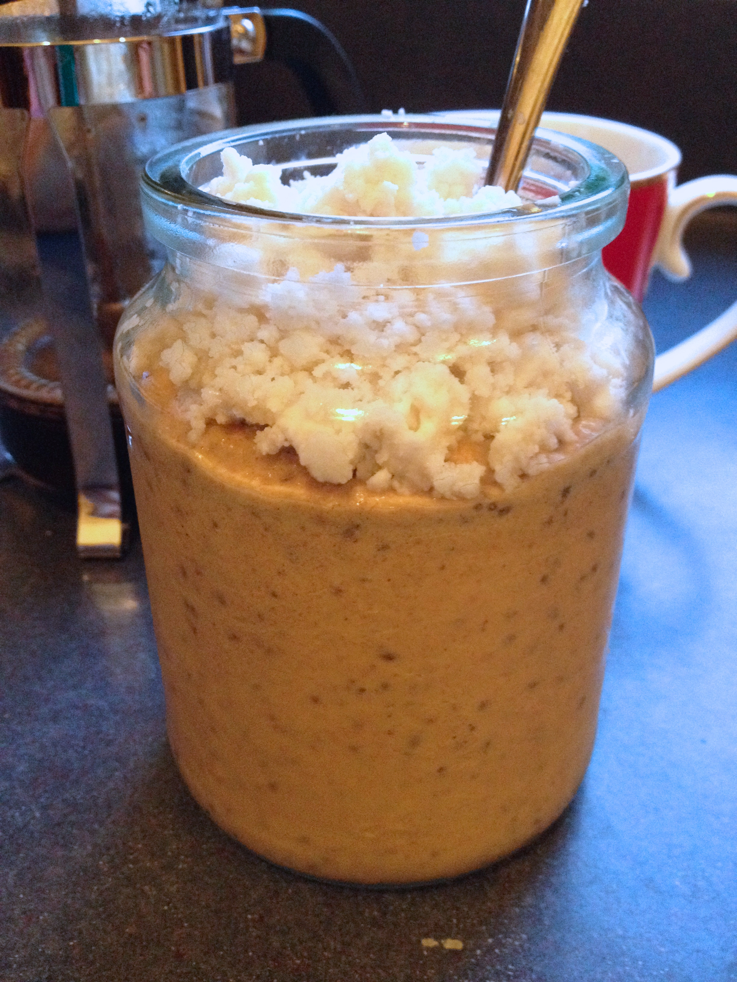 Carrot Cake Porridge Whip